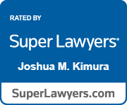 Rated by Super Lawyers Joshua M. Kimura
