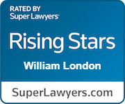 Rated by Super Lawyers Rising Stars William London