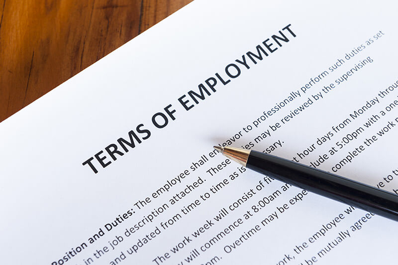 カリフォルニア・ロサンゼルス 雇用法