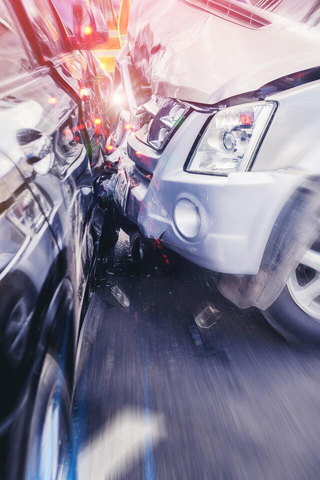 カリフォルニア・ロサンゼルス 車による交通事故
